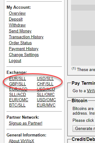 USD To SLL digital currency